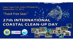 27th International Coastal Clean-Up Day