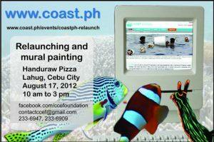 COAST.PH Relaunch and Mural Painting At Handuraw Pizza