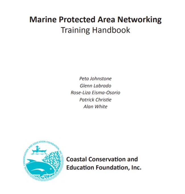 Marine Protected Area Networking Training Handbook