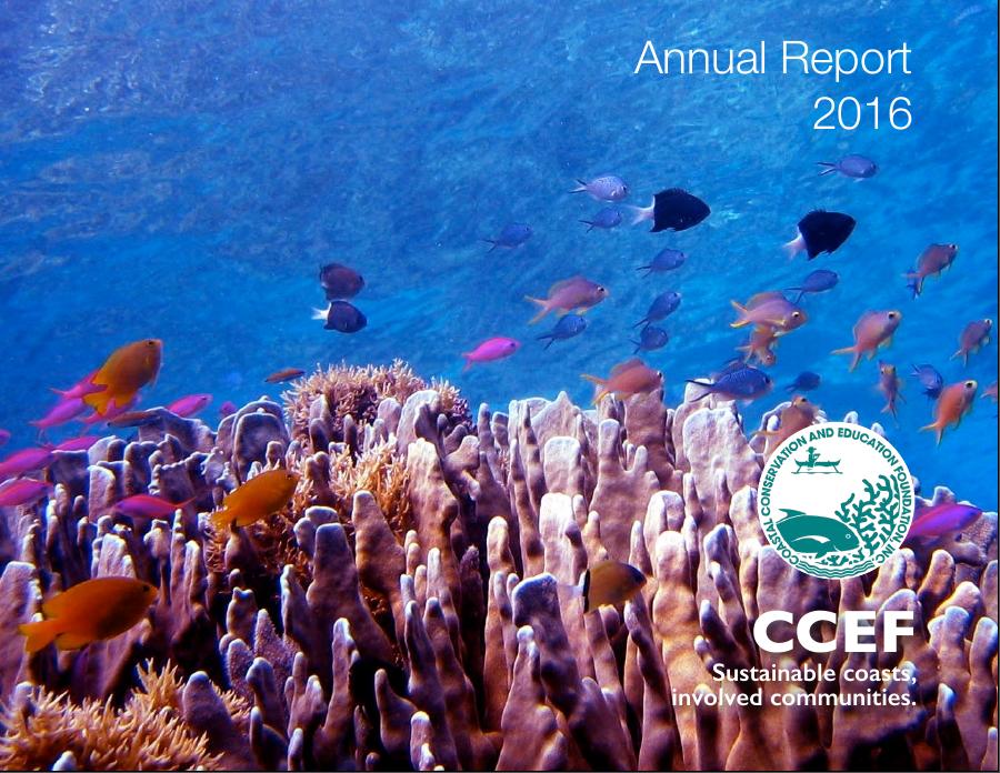 CCEF Annual Report 2016
