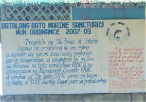 Batalang Bato Marine Sanctuary, Anilao, Batangas is fully protected
