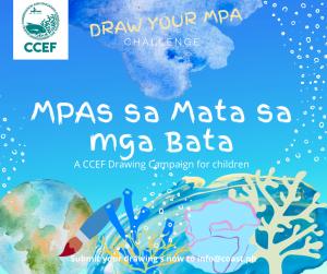 Join the CCEF Drawing Campaign: MPAs sa Mata sa mga Bata