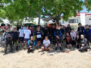 International Coastal Cleanup Day at Dalaguete, Cebu
