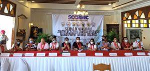 Signing of the Memorandum of Agreement for the Southeast Cebu Coastal Resource Management Council (Argao, Dalaguete,Alcoy, Oslob,Santander and Samboan)