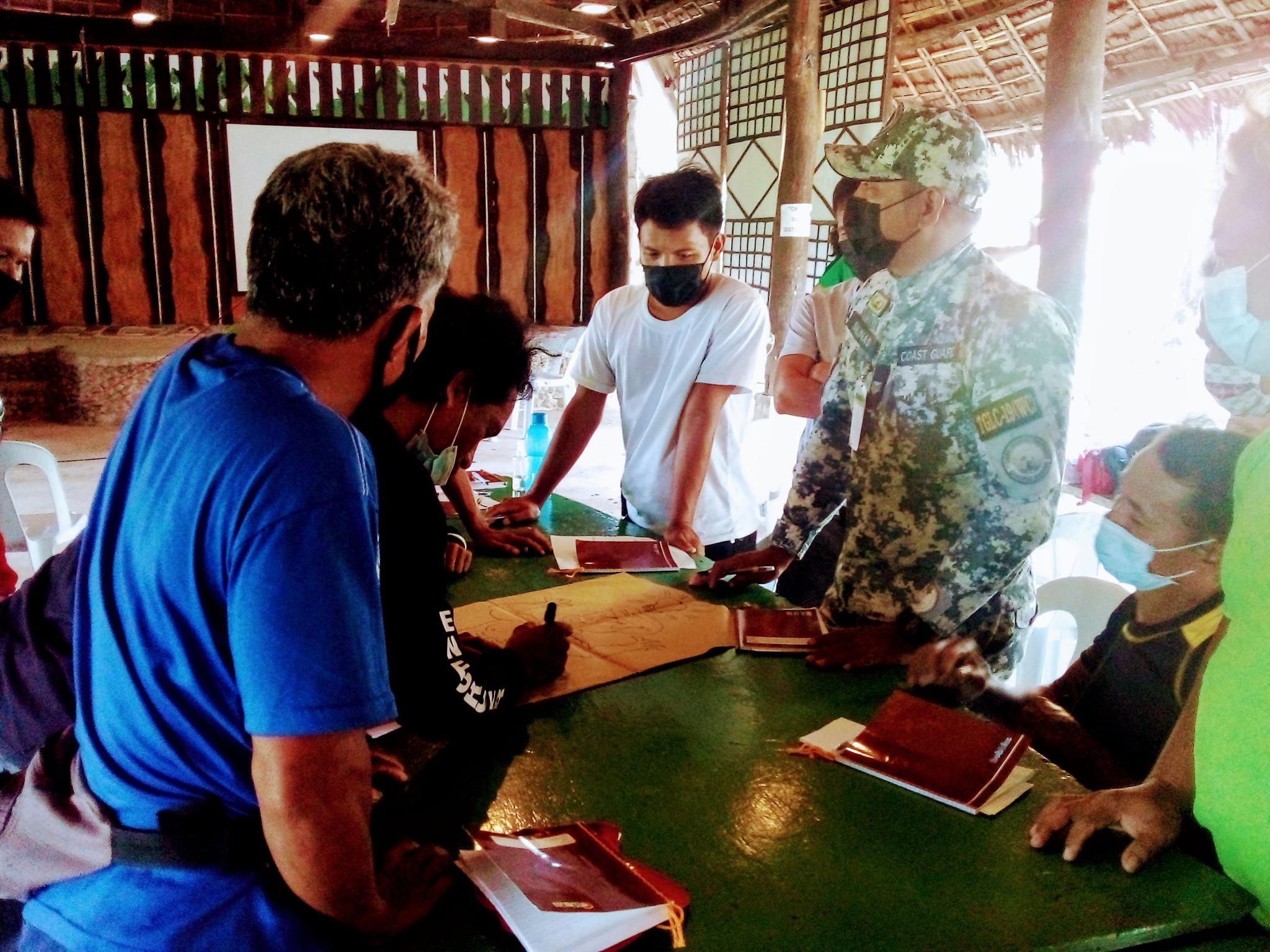 39Bantay Dagat in Argao Deputized during the Coastal Law Enforcement Training